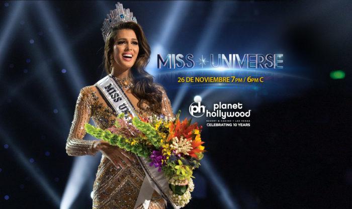 Sé testigo de la experiencia Miss Universo 2017 en Las Vegas